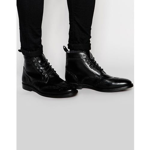 brogue boots - black marki Red tape