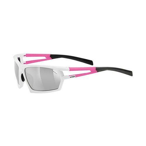 Okulary Uvex Sportstyle 704 871/8316 biało-różowe (2010000506431)