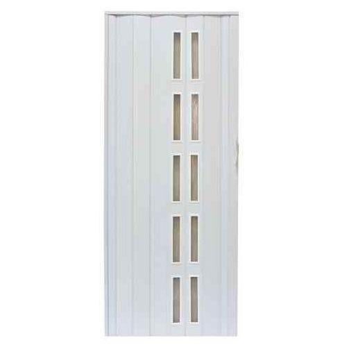 Drzwi Harmonijkowe 005S 014 Biały Mat 90 cm, GK-0123