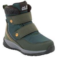 Buty dla dzieci zimowe POLAR BEAR TEXAPORE MID VC K dark green / grey - 30 (4060477354125)