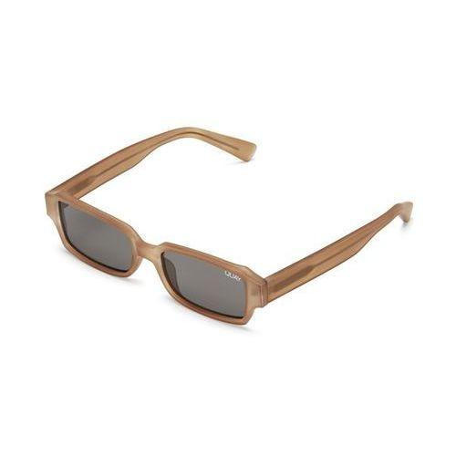 Okulary słoneczne qw-000292 strange love brn/smk marki Quay australia