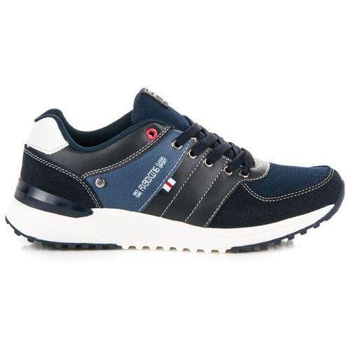 Granatowe buty sportowe, 1 rozmiar