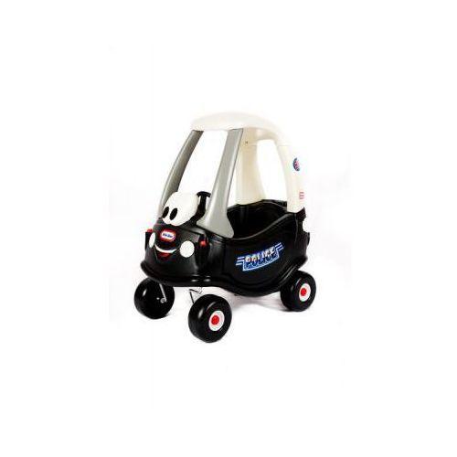 LT Samochód Cozy Coupe Policja Radiowóz Czarny, 0050743615795