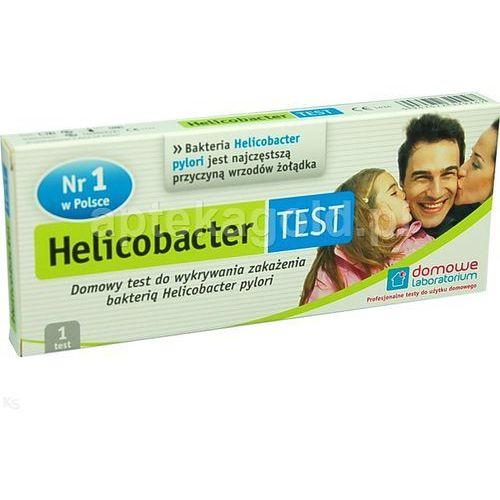 HELICOBACTER TEST wykrywa obecność przeciwciał bakterii Helicobacter pylori 1 szt. z kategorii Pozostałe leki ziołowe