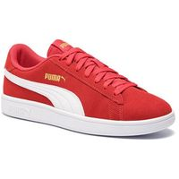 Sneakersy PUMA - Smash V2 364989 22 High Risk Red/White/Gold
