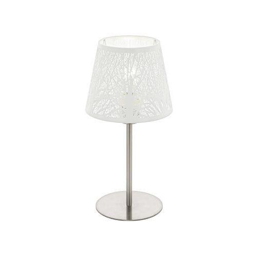 Eglo 49844 - lampa stołowa hambleton 1xe27/60w/230v (9002759498443)