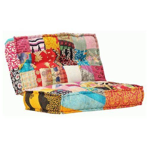Elior Kwadratowa piankowa sofa gina - patchwork