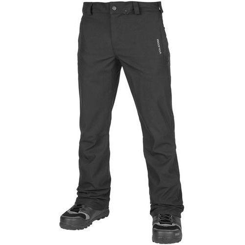 Volcom Spodnie - klocker tight pant vintage black (vbk) rozmiar: m