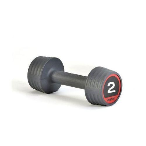 Hantla gumowana 2 kg - 2 kg marki Reebok