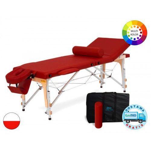 Mov Składany stół do masażu reflex alu z regulacją wysokości