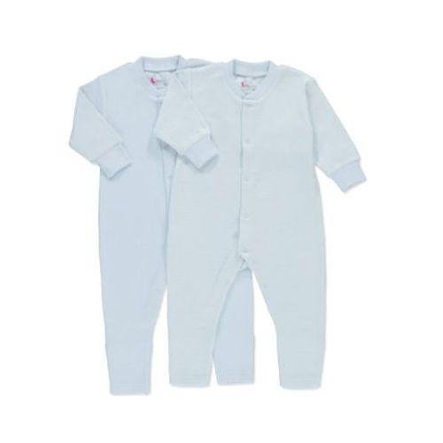 pink or blue Boys Baby Jednoczęściowa piżamka kolor niebieski (4048649068780)