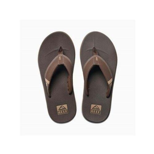 japonki REEF - Fanning Low Brown (BRO) rozmiar: 42, kolor brązowy