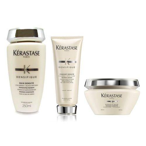 densifique densite | zestaw zagęszczający do włosów: kąpiel 250ml + odżywka 200ml + maska 200ml marki Kerastase