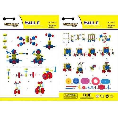 KLOCKI THINKERTOY 113 ELEMENTÓW WALL-E