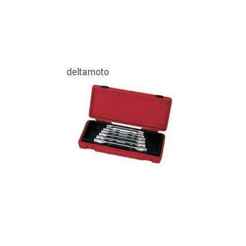 Zestaw kluczy nasadowych przegubowych 7 sztuk, 910018B