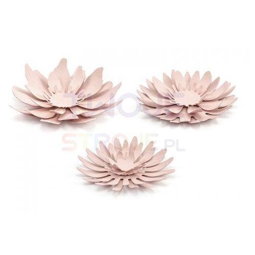 Twojestroje.pl Kwiaty papierowe róż 12el (5902230729681)