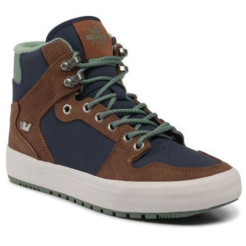 Sneakersy - vaider cw 08043-436-m navy/brown/bone, Supra, 40-45