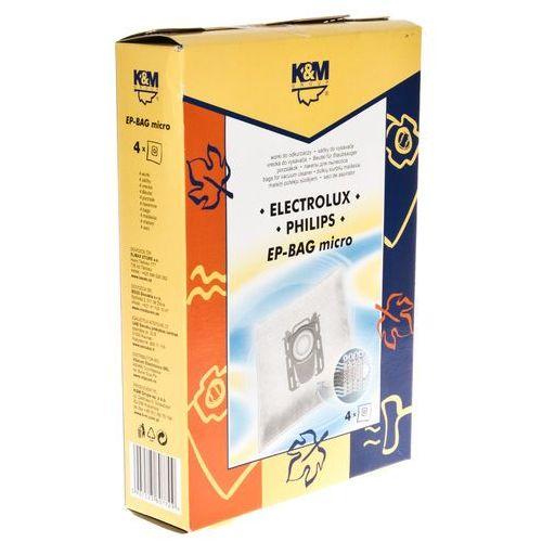 Worek do odkurzacza K&M EP-BAG Micro (4 sztuk)