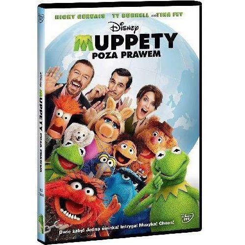Galapagos Muppety. poza prawem (dvd) - dostawa zamówienia do jednej ze 170 księgarni matras za darmo (7321916503816)