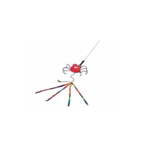 zabawka dla kota pająk na patyku 27cm - darmowa dostawa od 95 zł! marki Lolo pets