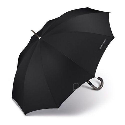noire długi męski parasol automatyczny long ac 62/10 marki Pierre cardin