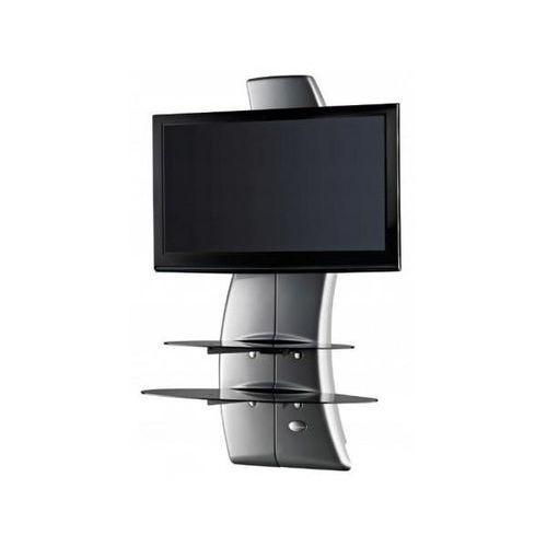 Półka pod TV z maskownicą GHOST DESIGN 2000 ROTATION VESA srebrna (8006023191086)