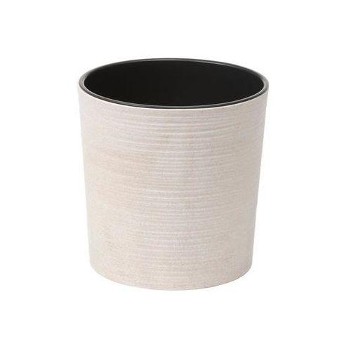 Lamela Doniczka plastikowa 30 cm biała malwa (5900119058440)
