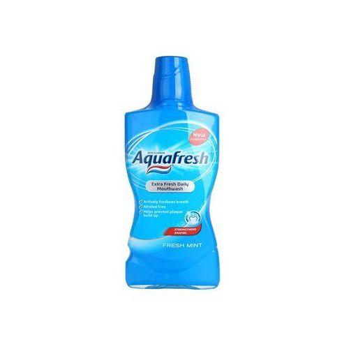 Aquafresh Fresh Mint płyn do płukania jamy ustnej odświeżający oddech (Extra Fresh Daily Mounthwash) 500 ml