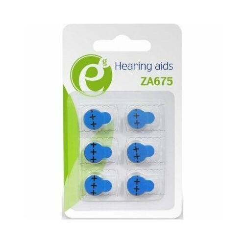 Baterie ZA675 GEMBIRD EG-BA-ZA675-01 (6 szt.) (8716309104449)