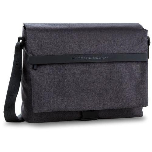 Torba na laptopa PORSCHE DESIGN - Cargon Cp Messenger 4090002565 Dark Grey 802, kolor szary