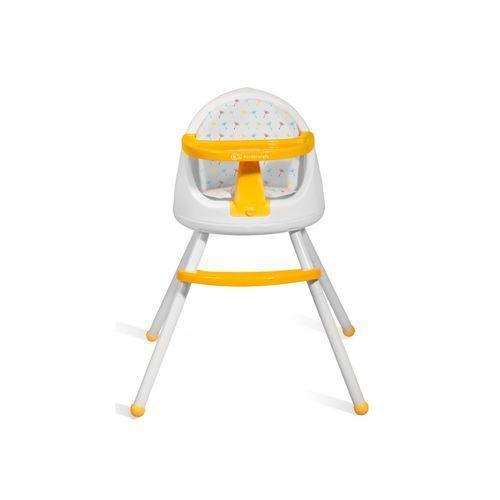 Krzesełko do karmienia KINDERKRAFT Tutti 4 w 1 Żółty + DARMOWY TRANSPORT!