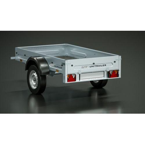 Unitrailer Przyczepa samochodowa 195 x 111 lekka dmc 750 kg home trailer 200  (5907640255126)