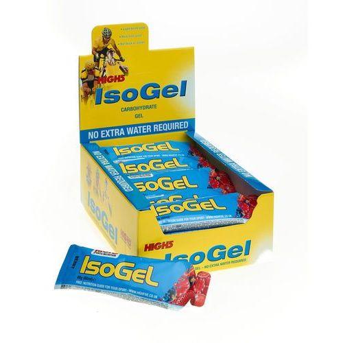 High5 IsoGel Żywność dla sportowców Red Fruits 25 x 60ml 2018 Zestawy i multipaki (5027492995565)