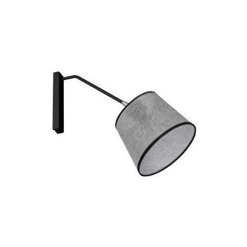 Kinkiet lampa ścienna Luminex Asta 1x60W E27 szary/czarny 8266 (5907565982664)