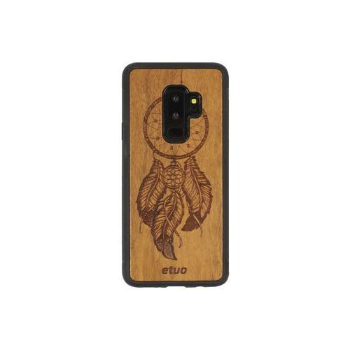 Samsung Galaxy S9 Plus - etui na telefon Wood Case - Łapacz Snów - imbuia, ETSM672WOODLSI000