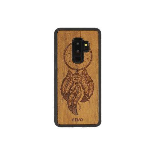Samsung Galaxy S9 Plus - etui na telefon Wood Case - Łapacz Snów - imbuia