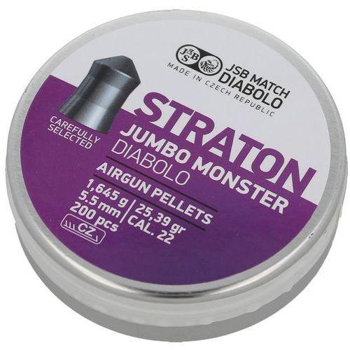 Jsb Śrut diabolo straton jumbo monster 5.51mm 200szt (546289-200)