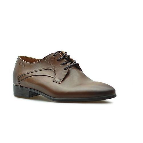 Pantofle Badura 7589 Brązowe lico, kolor brązowy