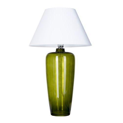 4concepts Lampa stołowa lampka bilabo green 1x60w e27 biały/zielony l019811215 (5901688142233)