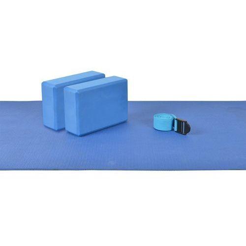 Zestaw do jogi mambo yoga set (mata + blok 2 szt.) moves - 04-010211 marki Msd