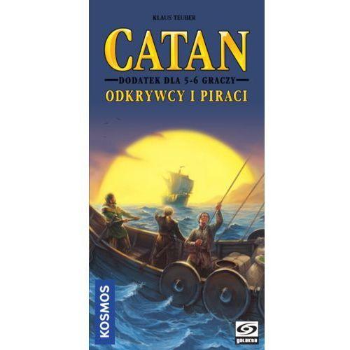 Galakta Catan. odkrywcy i piraci. dodatek dla 5-6 graczy - (5902259202820)