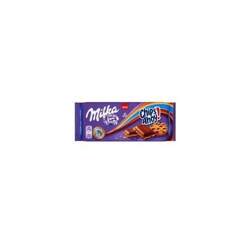 Kraft Czekolada milka chips ahoy! 100 g (7622210442086)