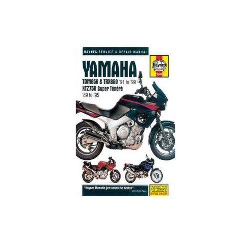 Yamaha TDM850, TRX850 & XTZ750 Service and Repair Manual (9781785210112)