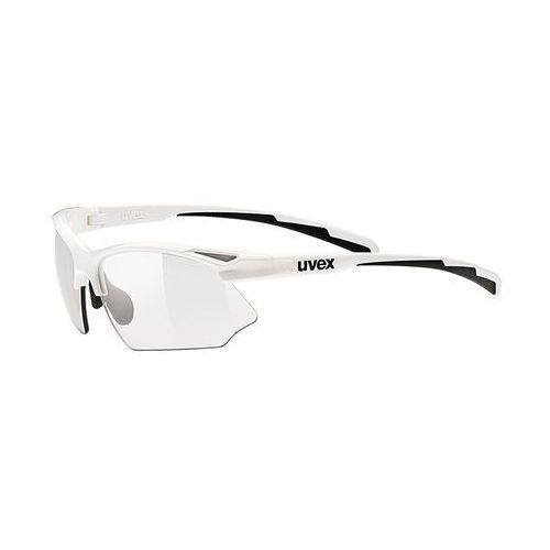 Uvex sportstyle 802 vario - okulary przeciwsłoneczne (biały) (4043197257556)