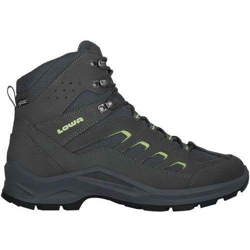 Nowe męskie buty sesto gtx mid anthracite/lime rozmiar 42/mp 270mm marki Lowa