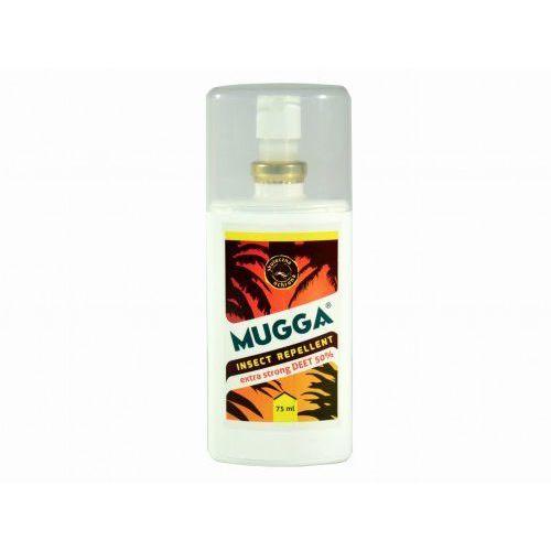 50% deet 75 ml tropikalna - na komary skuteczny spray (wersja tropikalna) marki Mugga