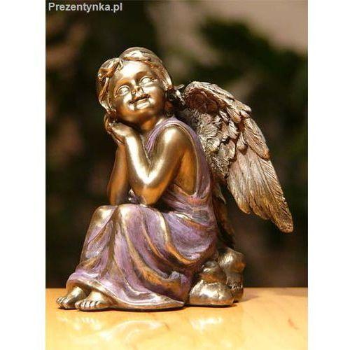 Zamyślony aniołek Ozdoba Świąteczna