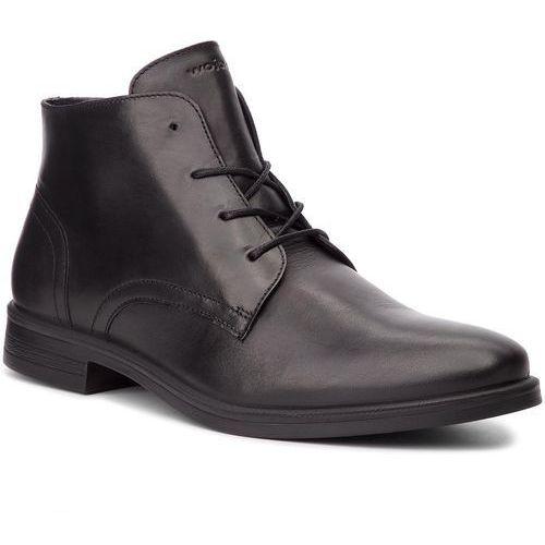 Trzewiki WOJAS - 8242-51 Czarny, kolor czarny
