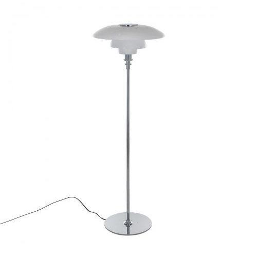 Italux Lampa podłogowa roger 45 mle3040/1-125-chrome stojąca 1x60w e27 chrom / biała
