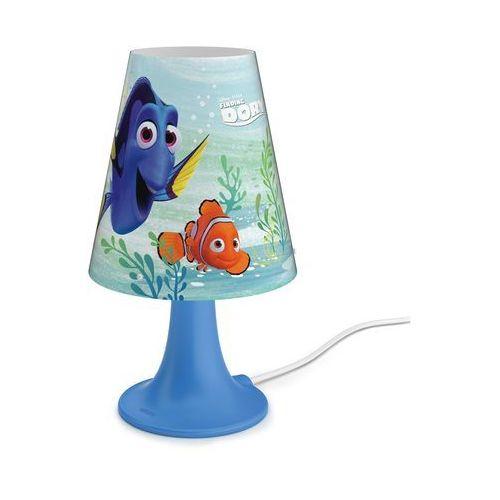 Philips  71795/90/16 - lampa stołowa dla dzieci disney finding dory led/2,3w/230v (8718696130483)